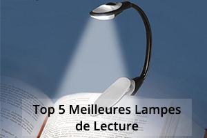 top 5 meilleures lampes de lecture led