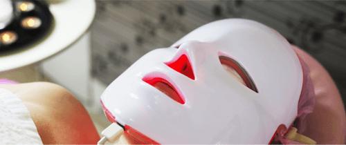 Utilisation masque led
