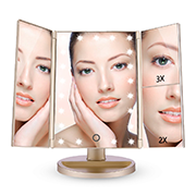 EASEHOLD Miroir Maquillage Lumineux LED
