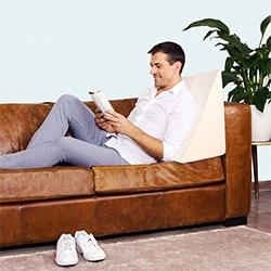 Oreiller de lecture pour lire au lit