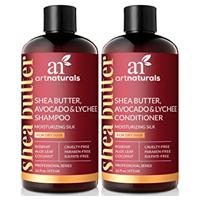 Shampoing et après shampoing beurre de karité art naturals