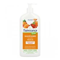 Natessance Kids Shampooing Haute Tolérance Abricot sans Sulfates pour enfants