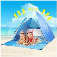Tente de plage pour adulte oummit