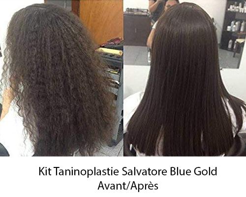 Kit de lissage au Tanin Salvatore - Blue Gold