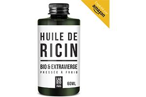 HUILE DE RICIN BIO 100% Pure et Naturelle