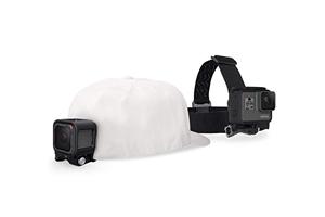 Fixation GoPro casque