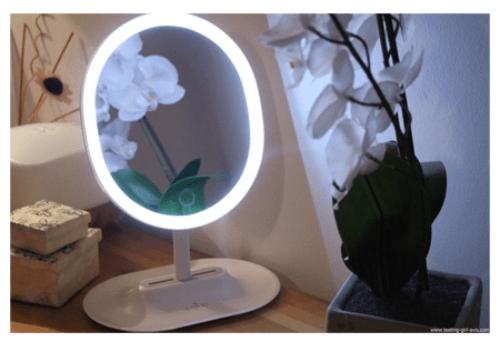 Meilleur miroir grossissant lumineux