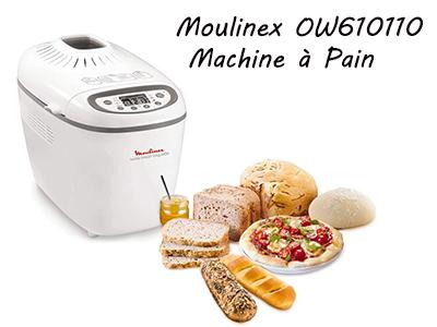 Moulinex OW610110 Machine à Pain, brioche et baguettes