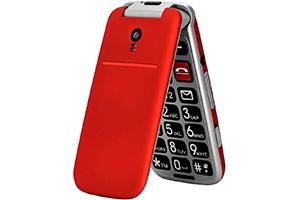 Téléphone à Clapet avec Grandes Touches
