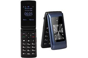 Téléphone Portable Senior Clapet Débloqué