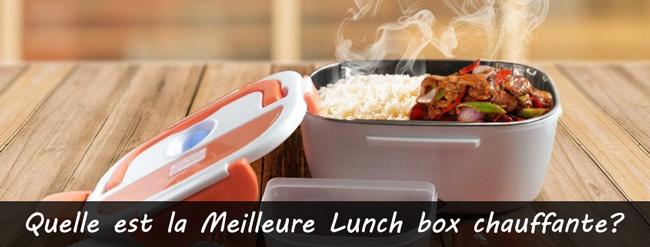 Comparatif des meilleures Lunch box chauffantes