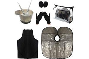 kit cheveux (Peigne Pinceau Brosse Bol )
