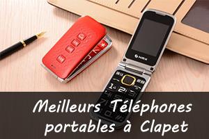 meilleurs téléphones portables à clapet