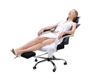 Fauteuil de bureau ergonomique avec assise genoux